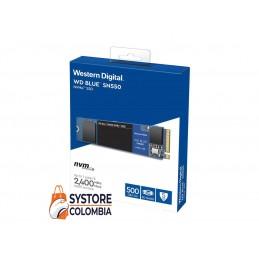 Disco Solido 500gb M2 Western Digital Blue Nvme Sn550 Pcie WDS500G2B0C