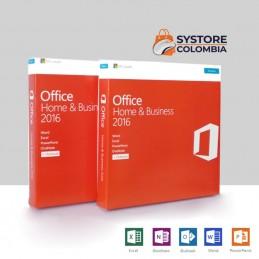 Licencia office 2016 hogar y pequeña empresa caja T5D-02713 bogota colombia