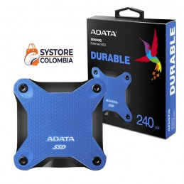Disco Externo Solido 240gb Adata Antigolpes SD600Q