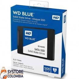 Disco Solido 500gb Western Digital Blue 3D Nand Sata WDS500G2B0A