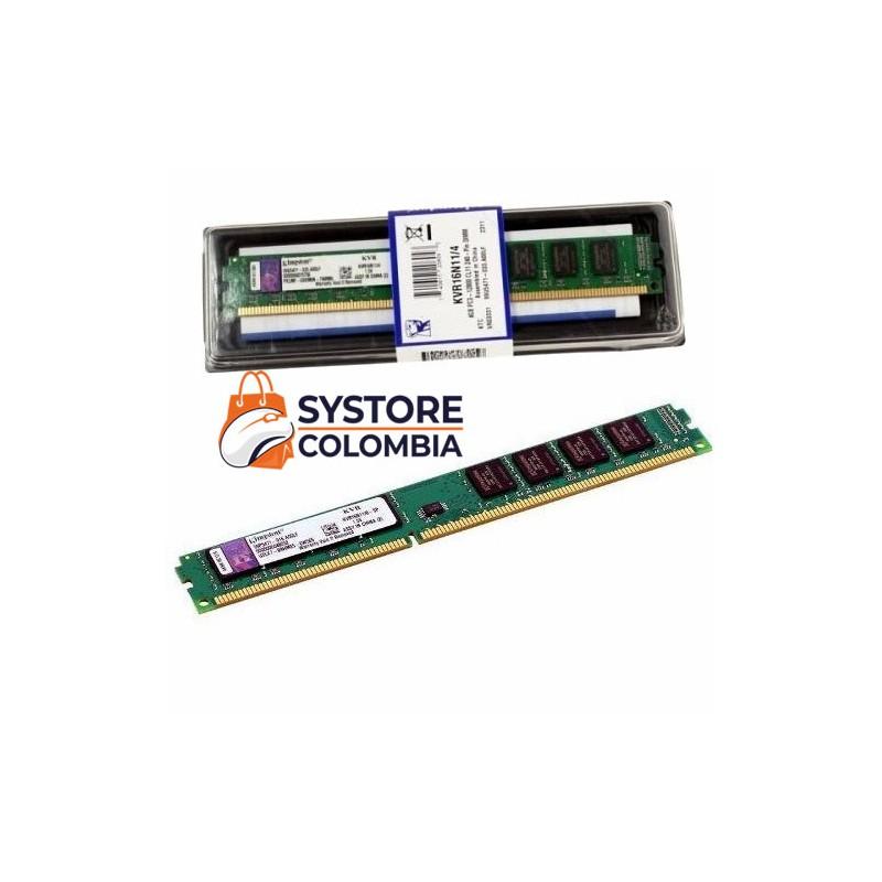 memoria ram ddr3 4gb 1600 mhz  kingston pc