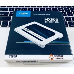 Disco Sólido Crucial MX500 250GB SATA3 3D NAND CT250MX500SSD1
