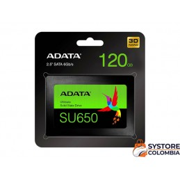 "Disco Solido 120gb Adata Su650 Ultimate Sata 2.5"" ASU650SS-120GT-R"