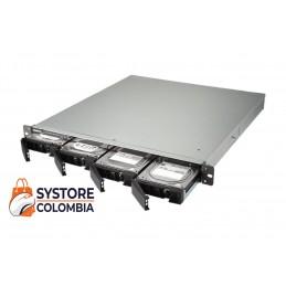 Servidor Nas Qnap Rack TS-432XU Quad Core 1.7Ghz 4 Bahias 1u