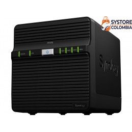 Servidor Synology Nas Ds420j Quad Core 1.4ghz 4 Bahias