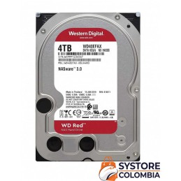 Disco Nas 4tb Western Digital Red Sata3 WD40EFAX 5400rpm