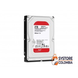 Disco Duro Nas 2TB Western Digital RED WD20EFAX 5400rpm